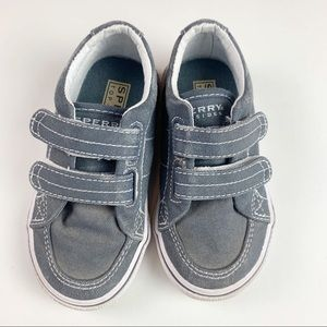 Sperry Shoes - SPERRY 7.5 Toddler Sneakers Velcro Straps
